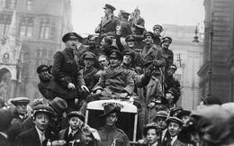Hiếm hoi những bức ảnh ngày đầu tiên sau khi Thế chiến thứ I kết thúc