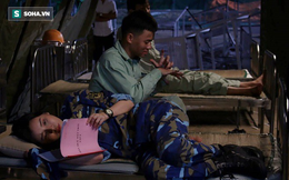Diễn viên Hậu duệ mặt trời phải nhập viện cấp cứu vì cảnh quay quá cực khổ