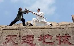 """Hậu duệ Hoắc Nguyên Giáp tung Bát Quái Chưởng khiến Thành Long """"lĩnh đủ"""""""