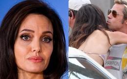Angelina Jolie lòng đau nhói khi nhìn Brad Pitt ôm thân mật với bạn diễn nữ?