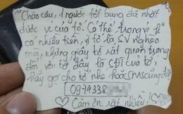 Đặt mảnh giấy người yêu cũ viết trong ví, chàng trai 2 lần lấy lại đồ 'không mất đồng nào'