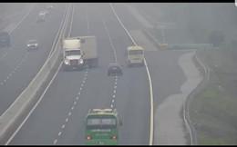 Xử lý xe container liều lĩnh quay đầu đi ngược chiều trên cao tốc Hà Nội - Hải Phòng