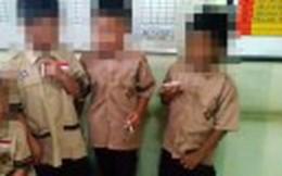 Hiệu trưởng hứng chỉ trích vì bắt các em học sinh 8 tuổi hút thuốc