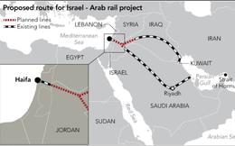 Sáng kiến xây đường xe lửa với các nước vùng Vịnh: Món lợi kinh tế có chấm dứt mối thù truyền kiếp Ả rập-Do thái?