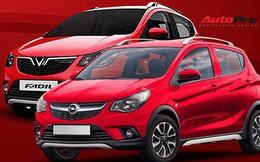 """Đoán trang bị trên xe nhỏ giá rẻ VinFast Fadil khi nhìn từ cặp xe """"song sinh"""" Chevrolet Spark, Opel Karl"""