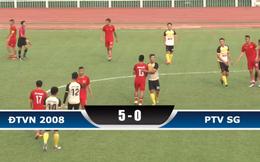 Đoàn quân của HLV Calisto chiến thắng 5-0 trong ngày tái ngộ