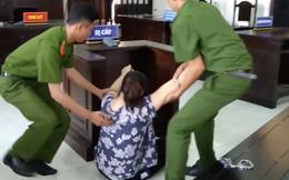 Nữ bảo mẫu đánh liên tiếp vào mặt, dọa cắt lưỡi trẻ ở Sài Gòn ngất xỉu khi nghe tòa tuyên án