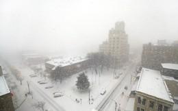 Bão tuyết bất thường tấn công bờ Đông nước Mỹ
