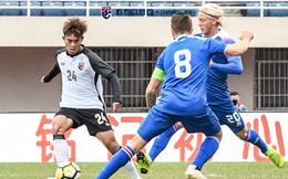 """Đồng môn của HLV Park Hang-seo giúp U21 Thái Lan cầm hòa """"ngựa ô"""" châu Âu"""