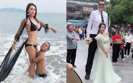 Sau khi chia tay bạn trai 1m và đăng tin tuyển chồng, Cung Nguyệt Phi cưới tình mới 2m?