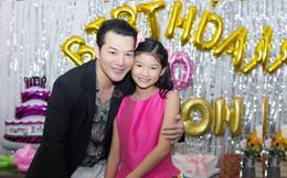 Sau 4 năm ly hôn, vợ chồng Trương Ngọc Anh vẫn cùng nhau tụ tập tổ chức sinh nhật 10 tuổi cho con gái yêu