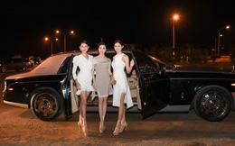 Dàn Hoa hậu, Á hậu nổi tiếng của Việt Nam được đưa rước bằng xe sang đến sự kiện