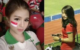 Không chịu kém cạnh Việt Nam, fan ĐNÁ thi nhau khoe ảnh hot girl cổ vũ bóng đá