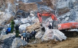 Hai công nhân chết thảm do bị đá đè ở Kiên Giang