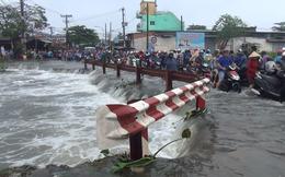 Tìm thấy thi thể nam sinh viên bị nước cuốn mất tích trong cơn bão số 9 ở Sài Gòn