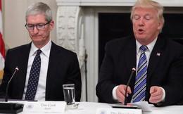 Một câu nói của ông Trump vừa khiến cổ phiếu Apple lao đao, nguy cơ ảnh hưởng nghiêm trọng tới doanh thu, lợi nhuận trong thời gian tới