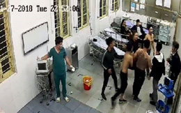 Bệnh nhân đang cấp cứu ở bệnh viện vẫn bị nhóm côn đồ lao vào hành hung