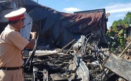 Khởi tố vụ xe bồn chở xăng cháy làm 6 người chết ở Bình Phước