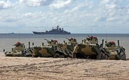 Chuyện ít biết về thiết giáp Hải quân đánh bộ Nga BTR-82A cải tiến sâu từ BTR-60PB có trong biên chế QĐNDVN
