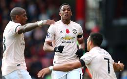 """""""Thần tài"""" Martial tung đòn sát thủ, Man United giật về chiến thắng thót tim"""