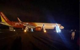 Máy bay Vietjet gặp sự cố, hành khách được lệnh bỏ lại hành lý, xuống bằng cửa thoát hiểm