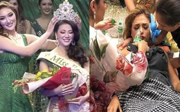 Phương Khánh lọt top 4 và giành vương miện do thí sinh Venezuela bị ngất xỉu?
