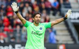"""Trận Champions League đầu tiên của Buffon cho PSG hóa ra là """"chung kết"""""""