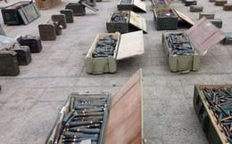 Syria tiếp tục phát hiện, thu giữ kho vũ khí cực lớn của phiến quân