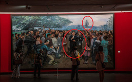 1 bức tranh, 2 vị trí khác biệt: Ông Tập Cận Bình tham vọng thoát khỏi cái bóng của Đặng?