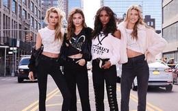 Đội thiên thần Victoria's Secret khoe chân dài hút mắt trên phố New York