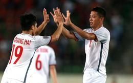 """Cận cảnh bàn thắng """"bí ẩn"""" của Anh Đức vào lưới ĐT Lào"""