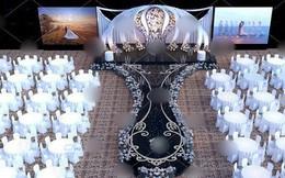 """Dân mạng xôn xao về """"siêu đám cưới"""" hôm nay, nguyên trang trí đã lên đến 4 tỷ đồng nhưng đây mới là sự thật"""