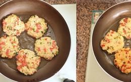Thật bất ngờ khi món bánh cực ngon thế này lại được làm từ cơm nguội