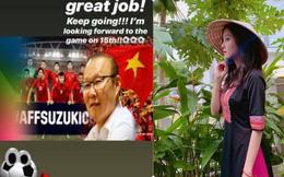 Ca sĩ nổi tiếng Hàn Quốc cổ vũ nhiệt tình cho ĐT Việt Nam, hứa hẹn trận lượt về sẽ xem tiếp