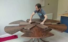 Chiếc bàn 'ma thuật' biến hình trong tích tắc gây kinh ngạc
