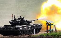 [ẢNH] Nga cấp tốc tăng cường xe tăng T-72B3 tới biên giới Ukraine trong tình hình nóng