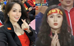 """Hot girl cười tươi trên sân Mỹ Đình: Máy quay của Việt Nam vẫn là """"đỉnh"""" nhất!"""