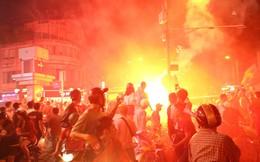 """CSGT xử lý gần 150 người đi """"bão"""" ở Sài Gòn sau chiến thắng của đội Việt Nam"""