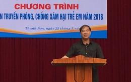 Sở GD&ĐT Phú Thọ gửi báo cáo vụ hiệu trưởng lạm dụng tình dục nam sinh đến Bộ GD&ĐT