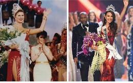 Sự trùng hợp khó tin giữa Tân Hoa hậu Hoàn vũ và người đẹp đăng quang cách đây gần 30 năm
