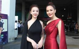 Hoàng Hải Thu đọ sắc với Hoa hậu Hoàn vũ Thái Lan