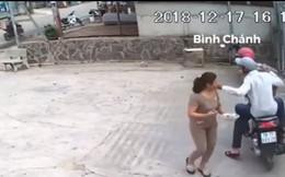 Vụ áp sát, giật dây chuyền nhanh như chớp gây xôn xao ở Sài Gòn: Bắt 2 đối tượng