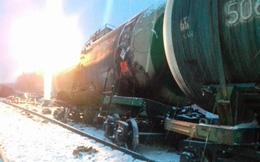 Nga nhận tin xấu: Tàu hỏa chở rất nhiều vũ khí bị lật nhào giữa lúc căng thẳng với Ukraine