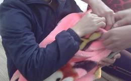 Hà Nội: Bé trai còn nguyên dây rốn bị bỏ rơi trước cổng nhà dân