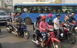 Đình chỉ tài xế, tiếp viên xe buýt cầm gậy sắt đòi đánh người sau va chạm ở Sài Gòn