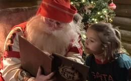 Đi chơi Giáng sinh cùng cả nhà, Harper Beckham háo hức dễ thương khi gặp ông già Noel