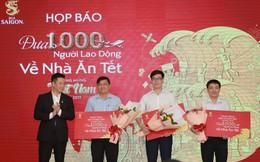 1.000 công nhân ở Sài Gòn, Đồng Nai, Bình Dương được tặng vé máy bay về quê ăn Tết