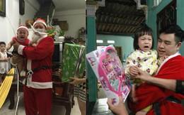 """""""Chuyện buồn"""" của chàng trai đóng giả ông già Noel đi tặng quà cho em nhỏ"""