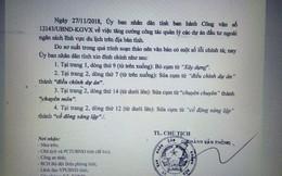 Khánh Hòa phải đính chính vì ra văn bản sai chính tả