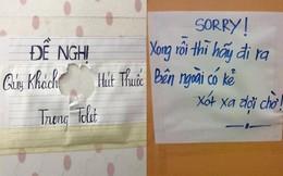 Tuyển tập những biển báo 'khó đỡ' trong nhà vệ sinh, cái đầu tiên sai hết ý đồ của người viết